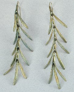 Silver Seasons - Michael Michaud - Rosemary  Earrings