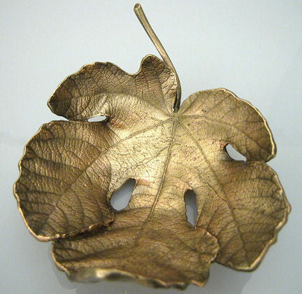 Michael Michaud - Table Art - Small Fig Leaf Dish