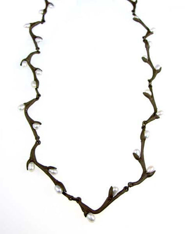 Silver Seasons - Michael Michaud - Pussy Willow Necklace