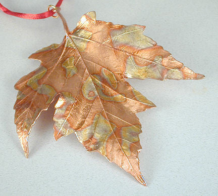 Michael Michaud - Table Art - Maple Leaf Ornament