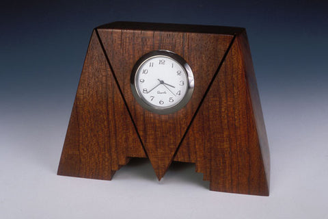 Howard Griffiths - Bubinga Geo Desk Clock
