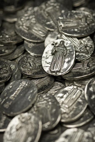 Vilmain Pewter - St. Francis Pocket Charm