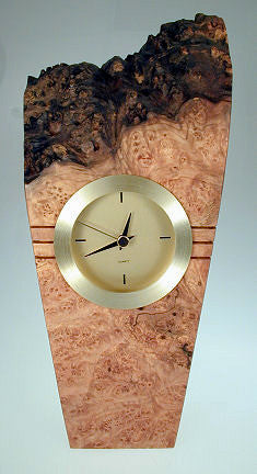 Howard Griffiths - Maple Burl - Small Metro Clock