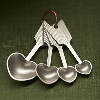 Beehive Kitchenware - Heart Measuring Spoons