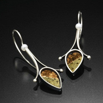Kinzig Design - Wire Drop Earrings