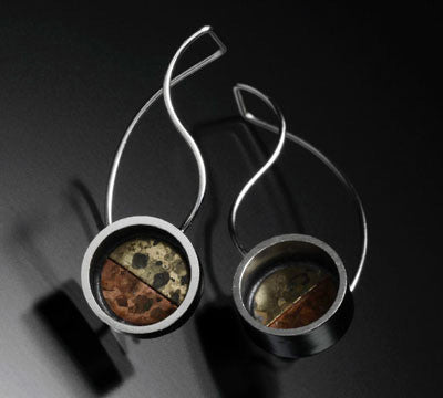 Kinzig Design - Circle Drop Earrings