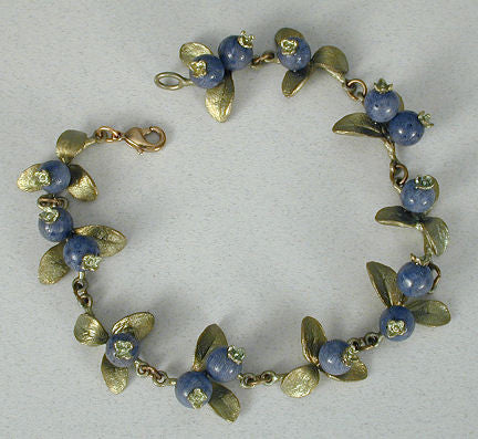 Silver Seasons - Michael Michaud - Blueberry Bracelet