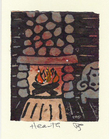 Salmonberry Studio - Hearth Note Card