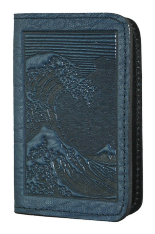 Oberon Design - Wave Leather Business Card Holder