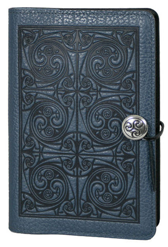 Oberon Design - Triskellion Knot Small Refillable Leather Journal