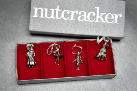Vilmain Pewter - Nutcracker Ornaments