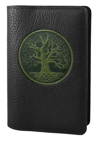 Oberon Design - Tree of Life Icon Refillable Leather Journal