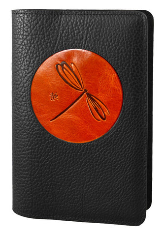 Oberon Design - Dragonfly Icon Refillable Leather Journal