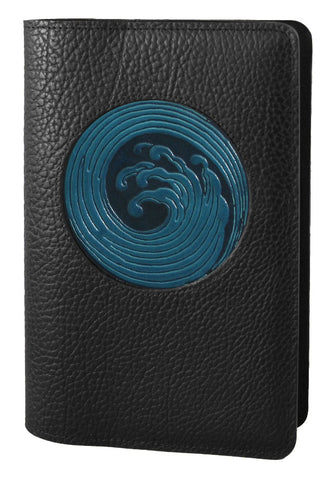 Oberon Design - Wave Icon Refillable Leather Journal