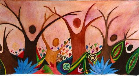Womantrees Dancing: Divas by Mitzi Linn