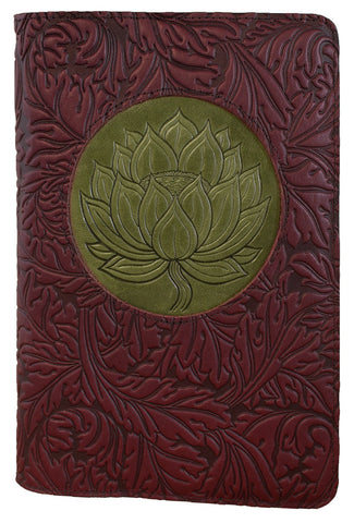 Oberon Design - Floating Lotus Icon Luxe Refillable Leather Journal