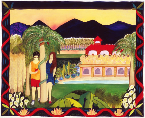Mitzi Linn - Adam and Eve visit Palm Springs