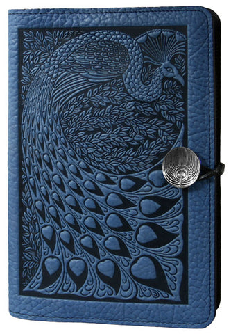 Oberon Design - Peacock Large Refillable Leather Journal