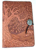 Oberon Design - Tree of Life Large Refillable Leather Journal