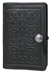 Oberon Design - Bold Celtic Large Refillable Leather Journal