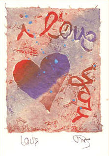 Salmonberry Studio - Love Note Card