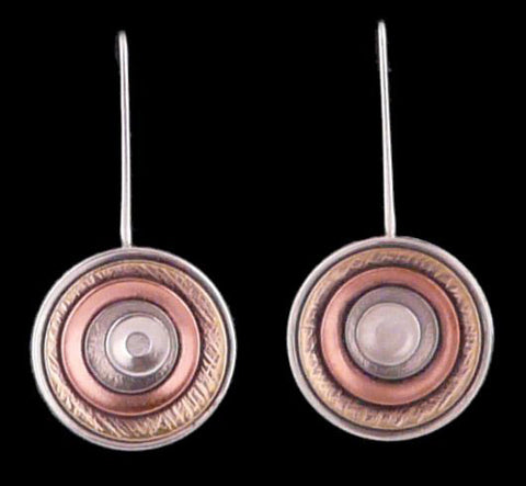 Kenneth Pillsworth Jewelry - Round Earrings