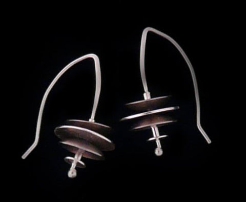 Kenneth Pillsworth Jewelry - Small Jetson Earrings