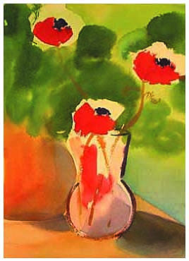 Emmaline Stevens - Poppies Note Card