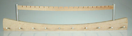 Davin & Kesler Woodworking - 10 over 10 Jewelry Hanger - Bird's Eye Maple