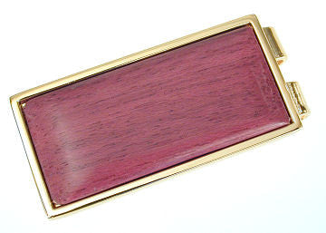 Davin & Kesler - Woodworking - Purple Heart Money Clip