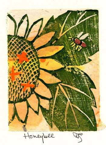 Salmonberry Studio - Honeybee Note Cards