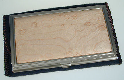 Davin & Kesler - Woodworking - Business Card Case- Maple