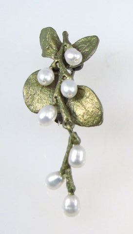 Silver Seasons - Michael Michaud - Irish Thorn Brooch