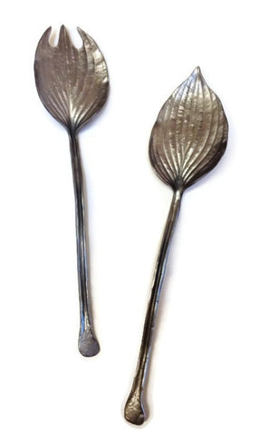 Michael Michaud - Table Art - Hosta Serving Utensils