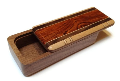 Mike Fisher - Heartwood Creations - Magnetic Snap-Lid Box