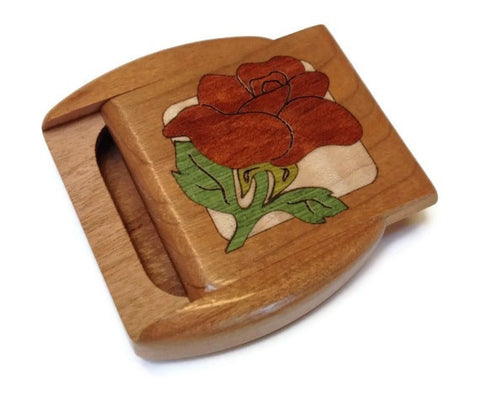 Heartwood Creations - Secret Box - Rose Inlay