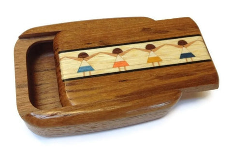 Mike Fisher - Heartwood Creations - Secret Box - Little Girls Inlay