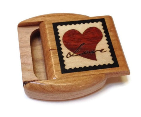 Heartwood Creations - Secret Boxes -  Love Heart Inlay