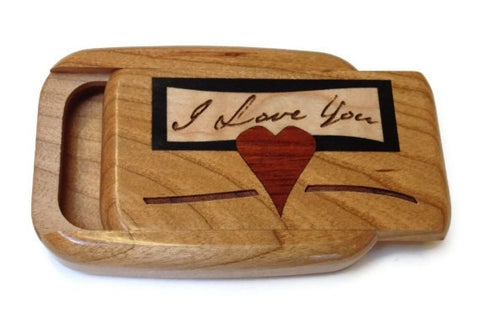 Heartwood Creations - Secret Boxes -  I Love You Inlay