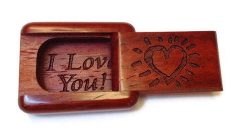 Mike Fisher - Heartwood Creations -  Secret Boxes - Laser Heart Box