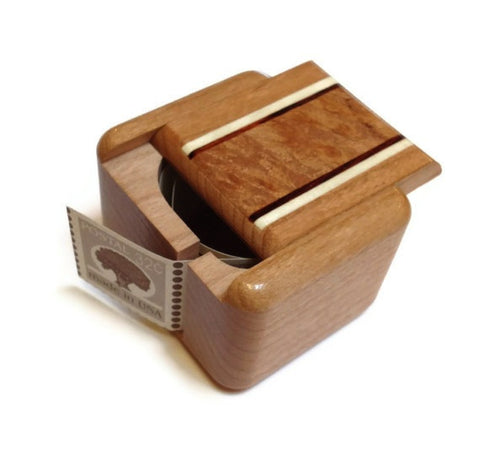 Heartwood Creations - Stamp Box - Natural Inlay