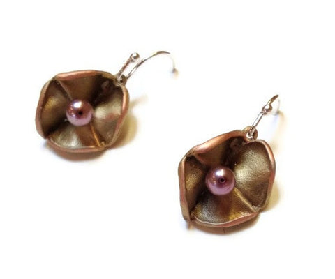 Silver Seasons - Michael Michaud - Purple Hyacinth Earrings