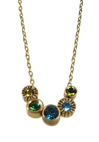 Patricia Locke Jewelry - Pennies From Heaven Necklace in Surf