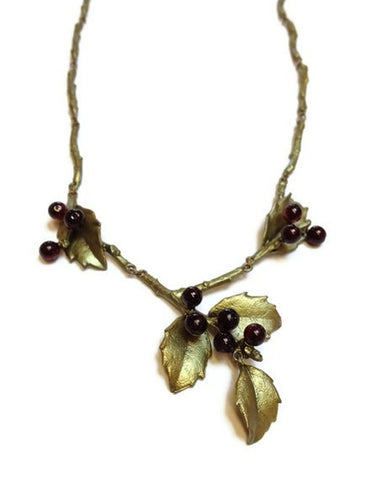 Silver Seasons - Michael Michaud - Holly Necklace