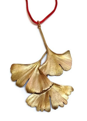 Michael Michaud - Table Art - Ginkgo Leaf Ornament