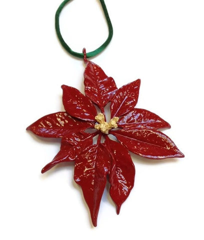 Michael Michaud - Table Art - Poinsettia Ornament