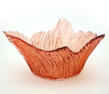 Hudson Beach Glass - Marsh Grass Bowl in Topaz