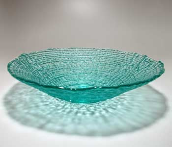 Hudson Beach Glass -  Mega Epidavrous Bowl in Ice