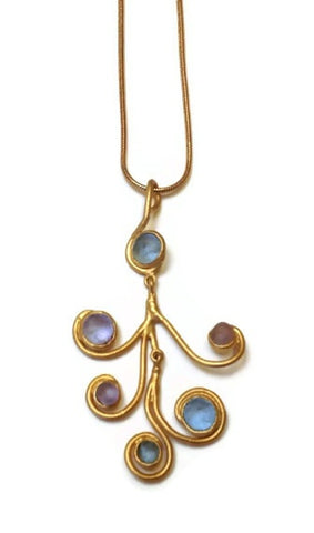 Michael Vincent Michaud Jewelry - Swirls Pendant