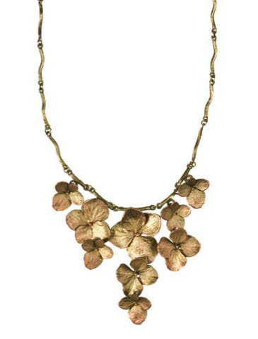 Silver Seasons - Michael Michaud - Hydrangea Necklace